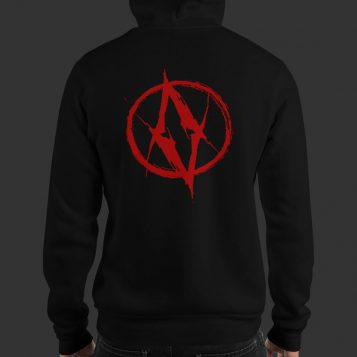 hoodie design 02 red 01 back2
